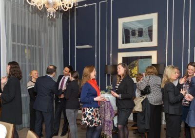 No. 25 Fitzwilliam Place | Networking Event, Group Shot