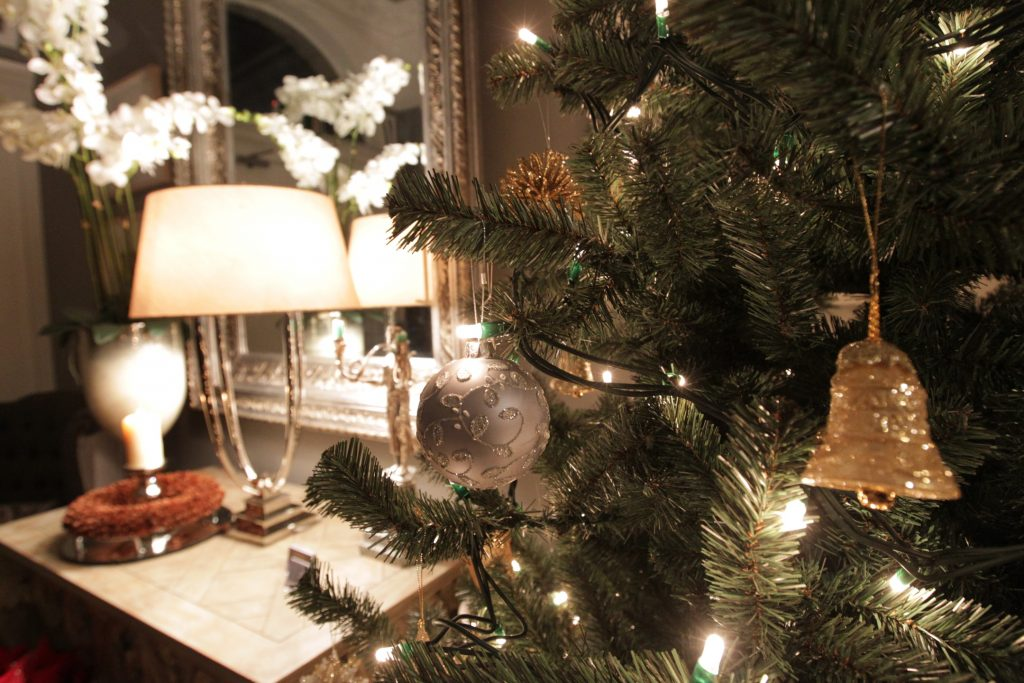 No. 25 Fitzwilliam Place | Christmas Decorations | Corporate Christmas Event