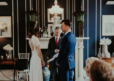 No. 25 Fitzwilliam Place | Llynda and Aaron Wedding