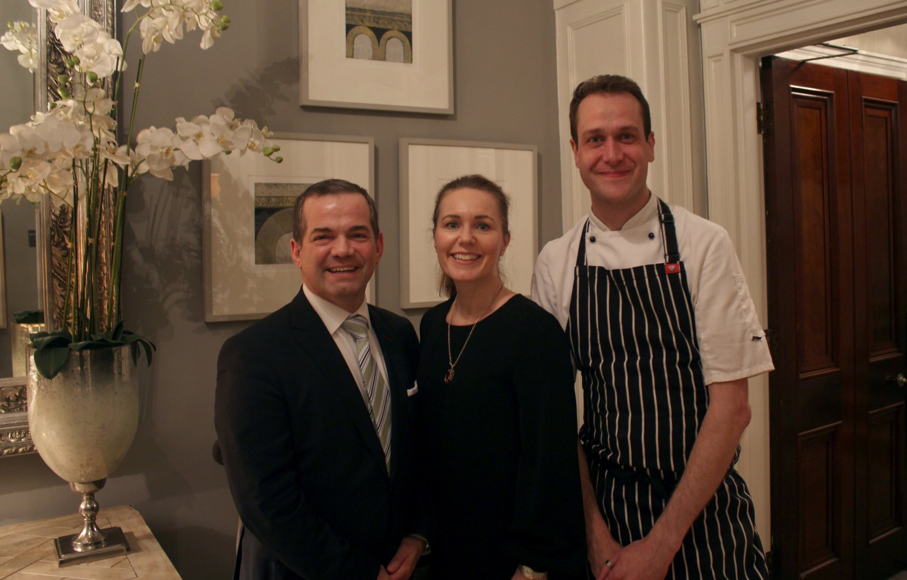 No. 25 Fitzwilliam Place | Events Team | John Healy | Denise Bevan | Richard Stearn