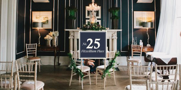 No. 25 Fitzwilliam Place | Weddings